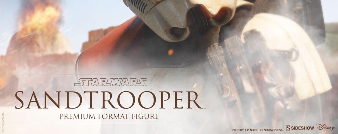 #shortcut: Sideshow Sandtrooper Premium Format Statue bald verfügbar