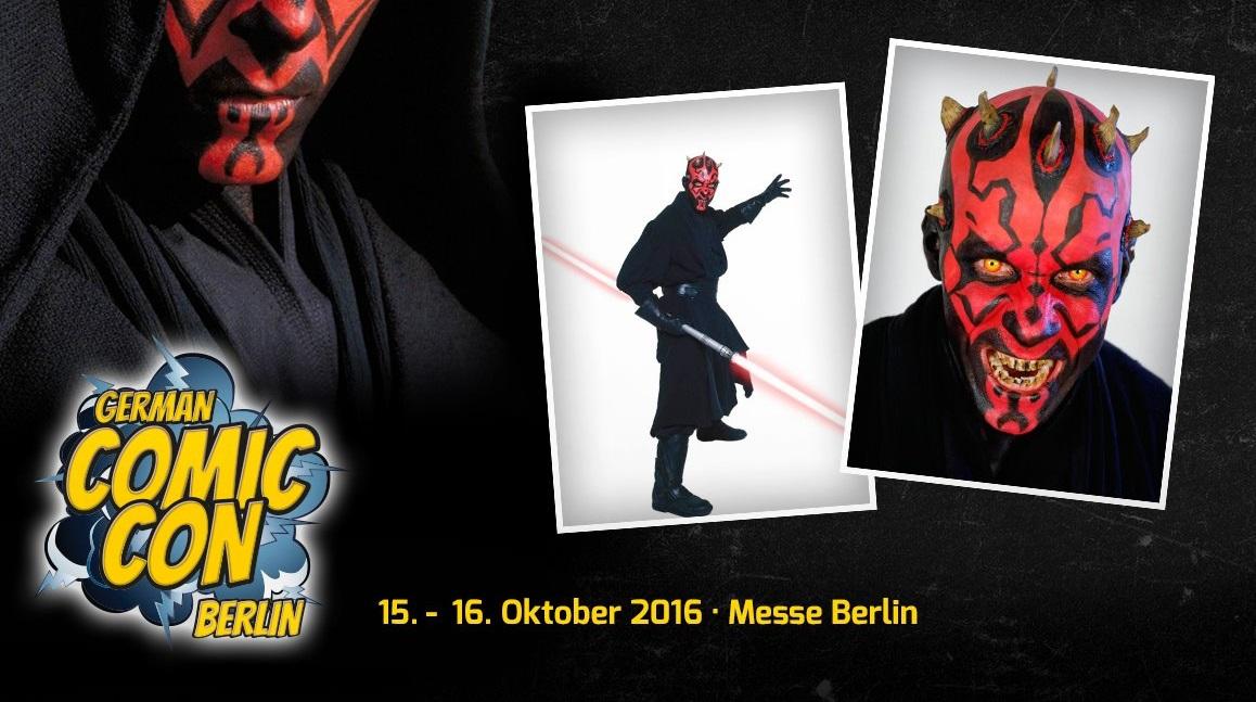 Ray Park auf der German Comic Con in Berlin!