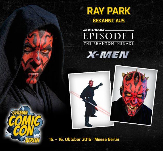 German Comic Con Ray Park