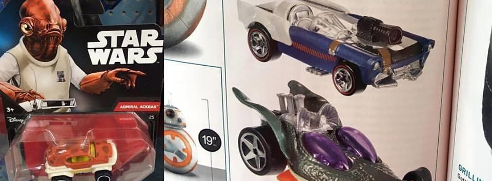 #shortcut: Hot Wheels Greedo und Admiral Ackbar Character Cars