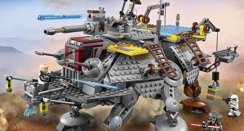 #shortcut: Hochauflösende Bilder des LEGO 75157 Captain Rex's AT-TE gefunden!