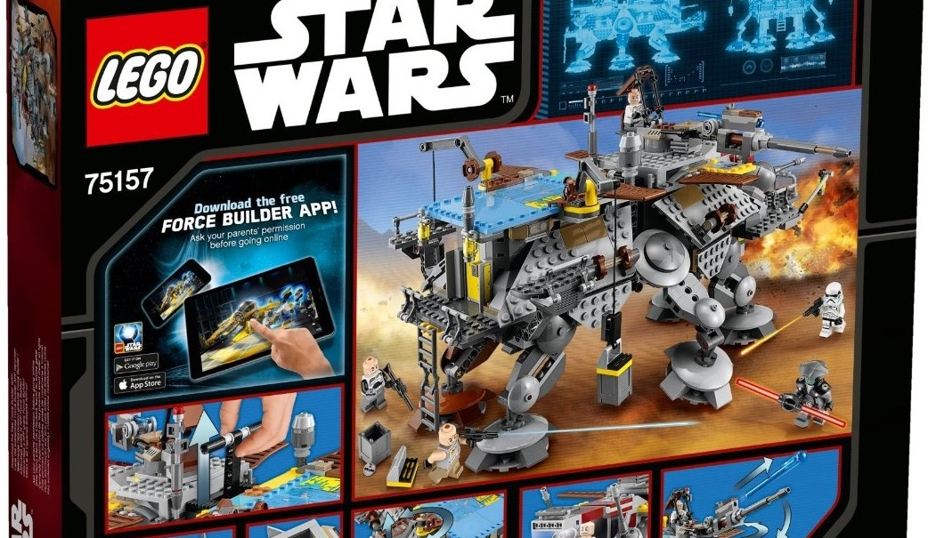 #shortcut: LEGO Star Wars 75157 – Rückseite der Box