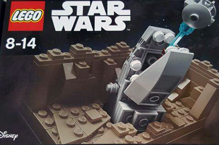 LEGO Star Wars Escape The Space Slug Exclusiv Set