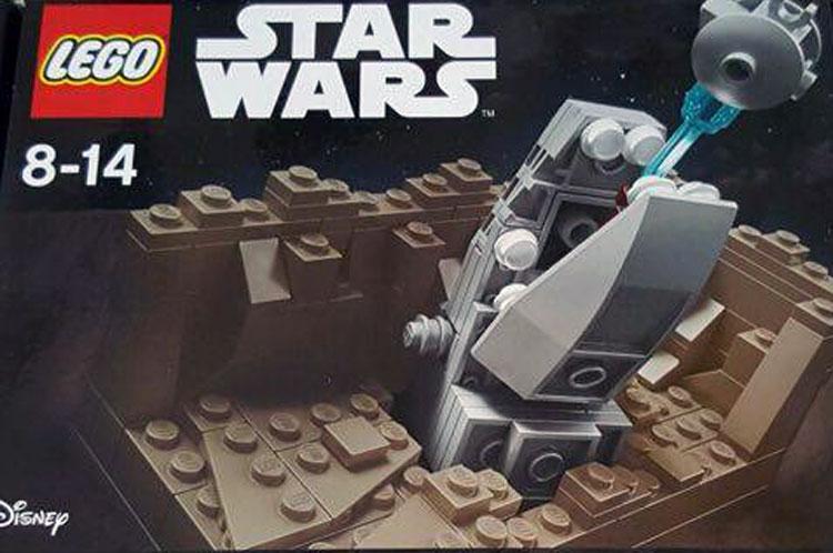 LEGO Star Wars Escape The Space Slug Exclusiv Set