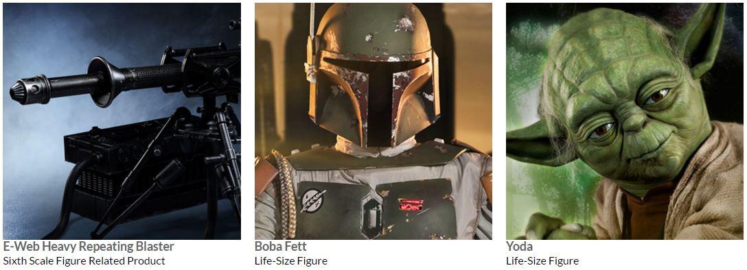 #shortcut: Drei Sideshow Star Wars Neuauflagen verfügbar