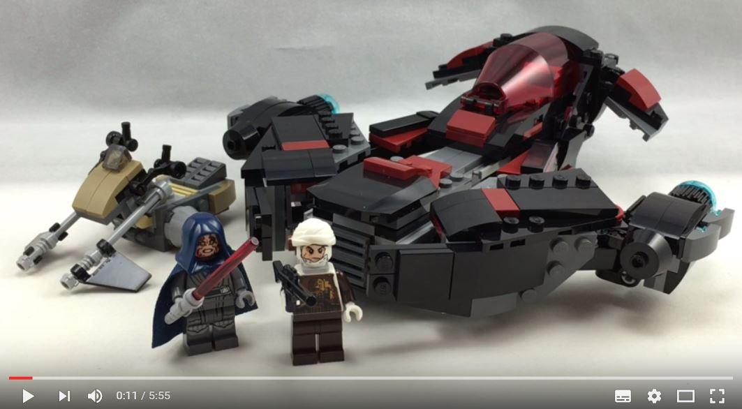 #shortcut: Review-Video zum LEGO Star Wars 75145 Eclipse Fighter