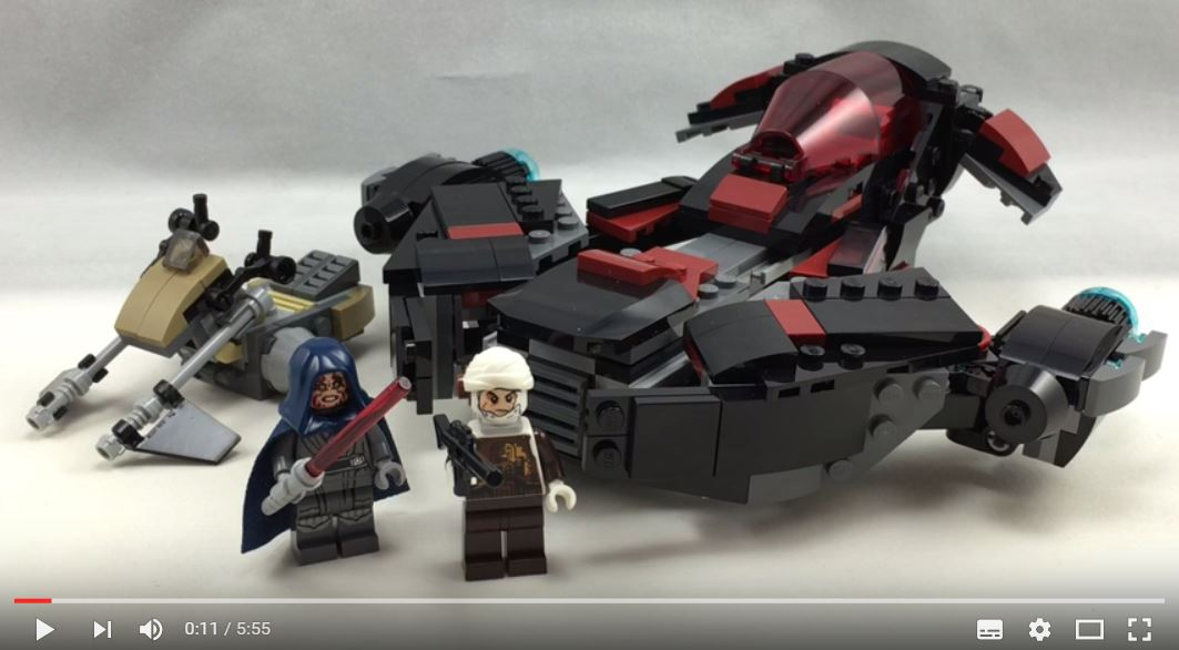 #shortcut: Review-Video zum LEGO Star Wars 75145 Eclipse Fighter