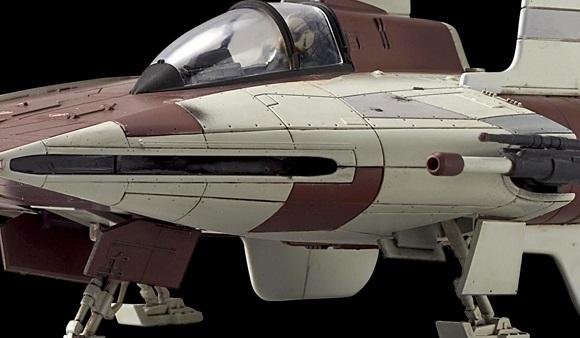#shortcut: Offizielle Bilder zum Bandai A-Wing Model Kit