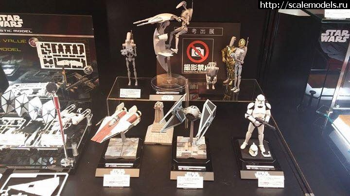 Neue Bandai Star Wars Model-Kits gesichtet!