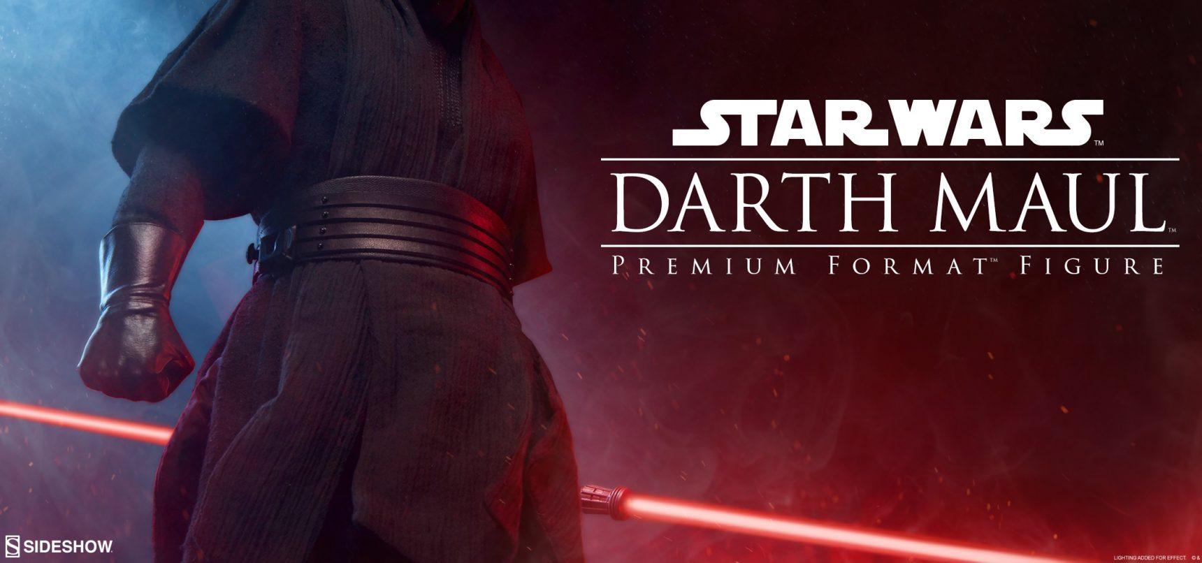 Teaser zur Sideshow Darth Maul Premium Format Figur