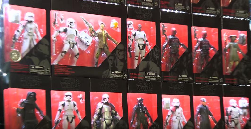 Do-it-yourself Display für Hasbro Star Wars Black Series Figuren