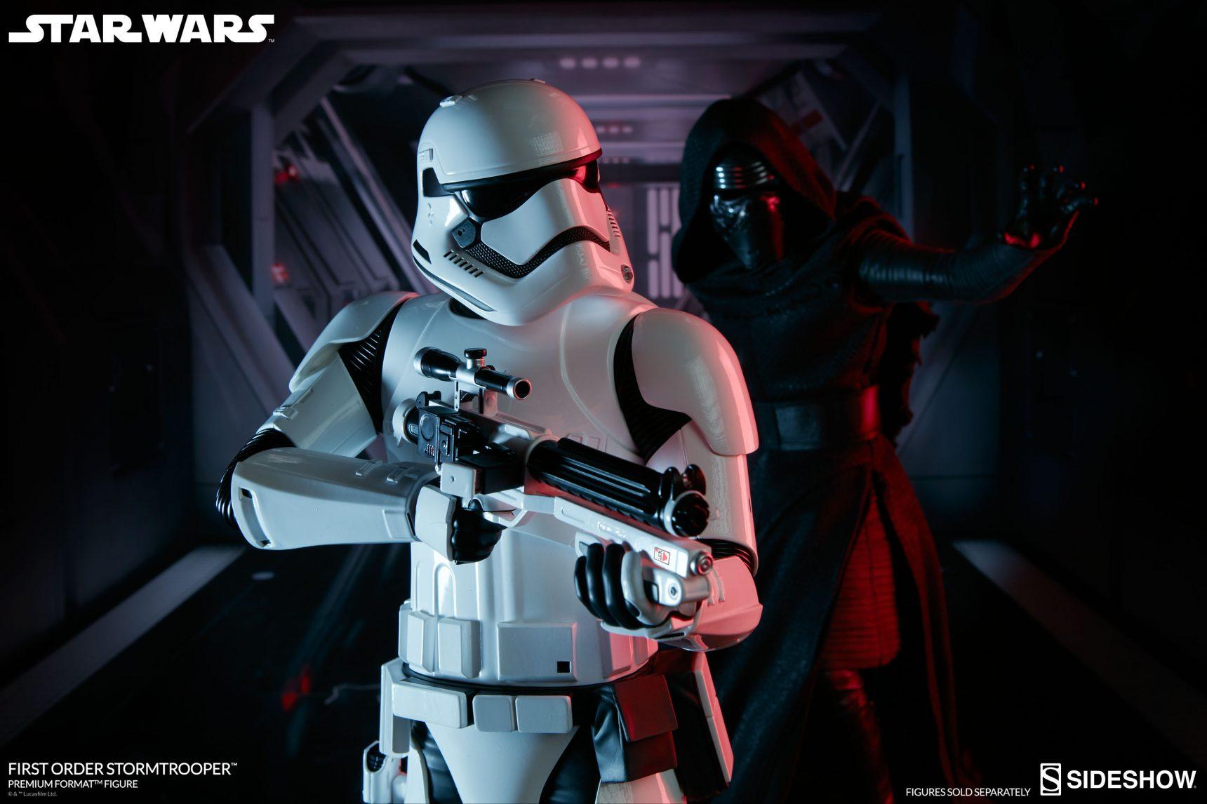 #shortcut: Bilder und Termin zur First Order Stormtrooper Premium Format