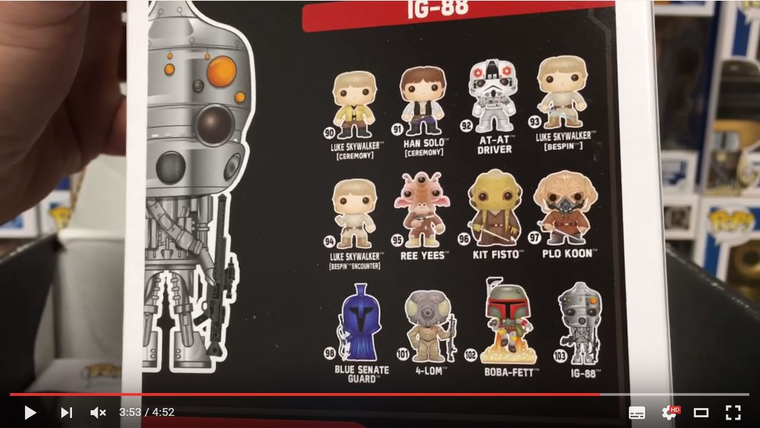 #shortcut: Drei neue Funko POP! Star Wars Figuren