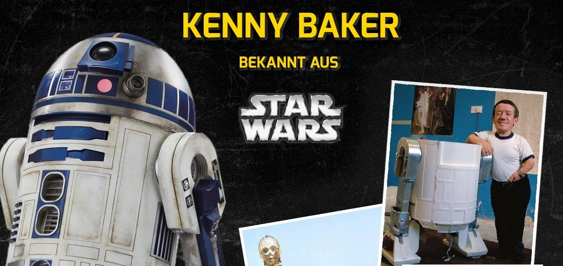 #shortcut: Kenny Baker auf der German Comic Con Berlin