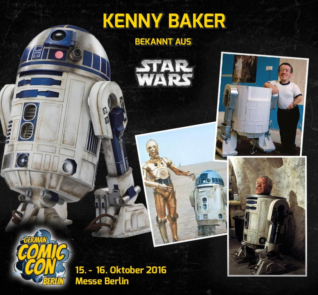 German Comic Con Kenny Baker