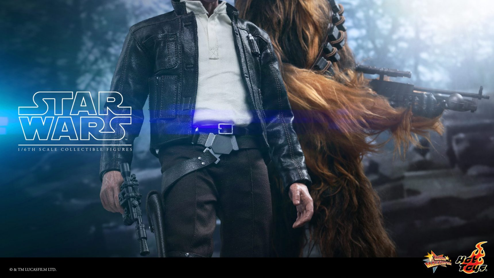 Hot Toys Han Solo & Chewbacca Sixth Scale
