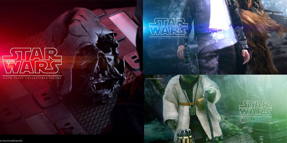 Drei neue Hot Toys Star Wars Ankündigungen!