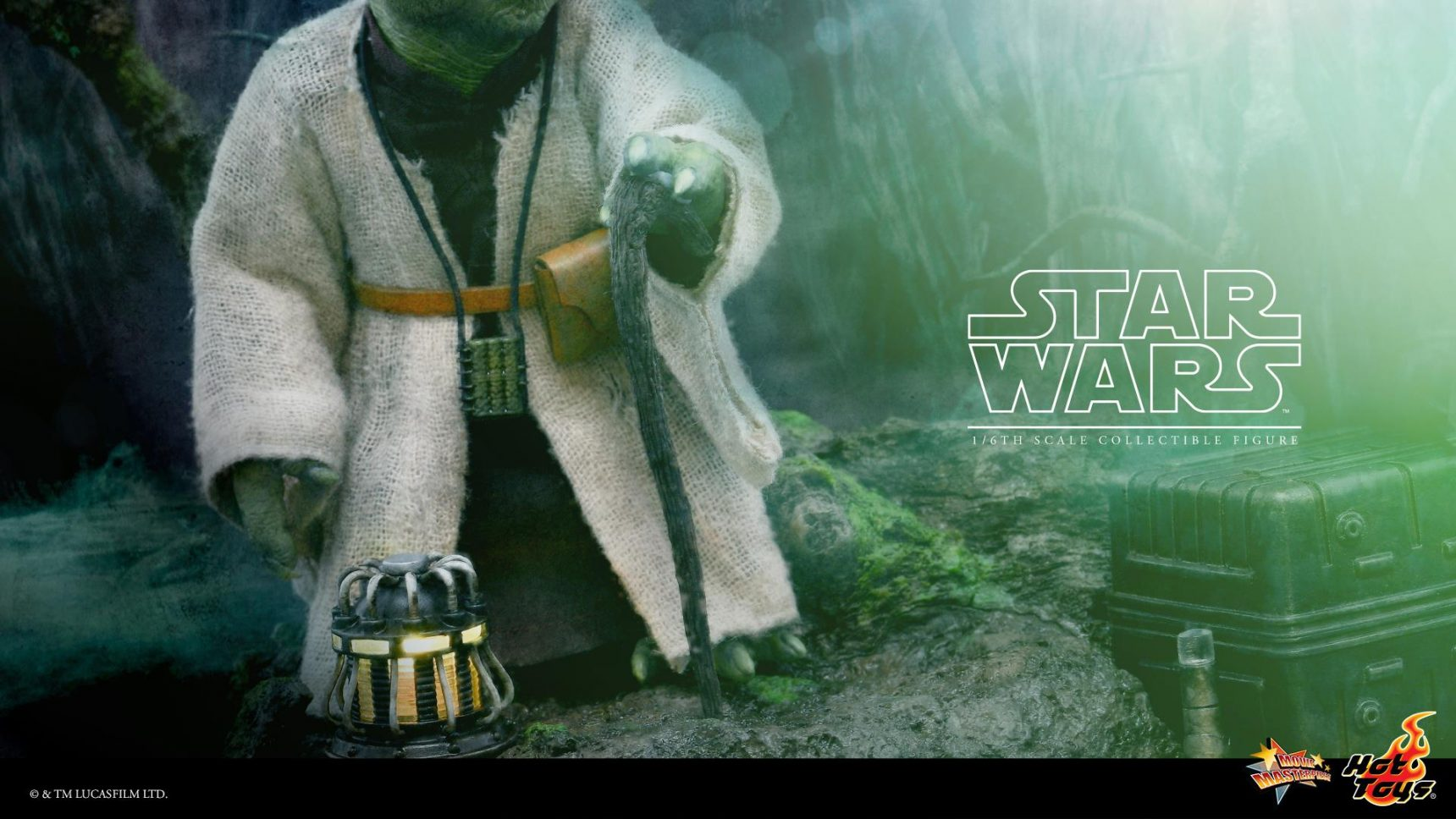 Hot Toys Yoda Sixth Scale