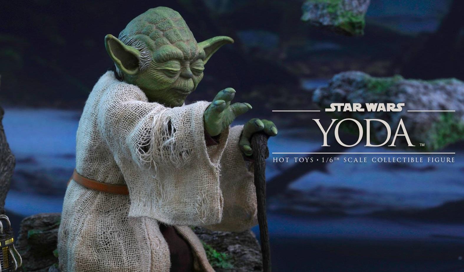 Hot Toys Yoda 1/6 Scale Figur offiziell vorgestellt!