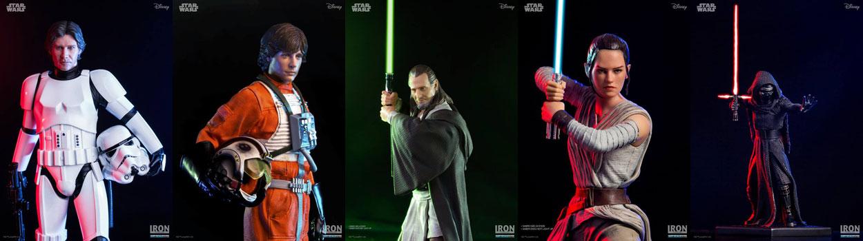 Fünf neue Iron Studios Star Wars Collectibles!