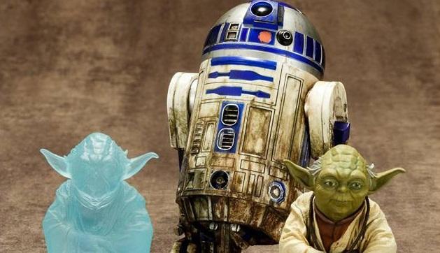 Kotobukiya Dagobah Yoda & R2-D2 als ArtFX+ Set gefunden!