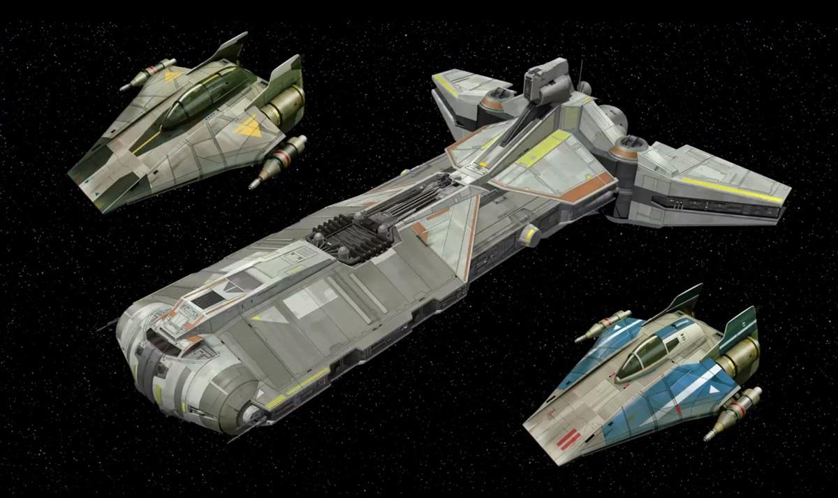 #shortcut: Hinweise auf LEGO Star Wars 75158 Rebel Combat Frigate!