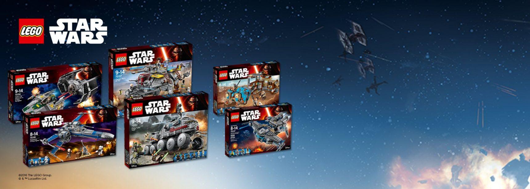 Die neuen LEGO Star Wars 2016 Sets sind ab sofort verfügbar!