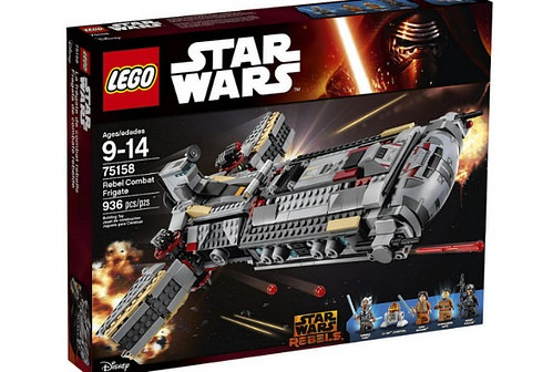 #shortcut: Bilder der LEGO Star Wars 75158 Rebel Combat Frigate gefunden!