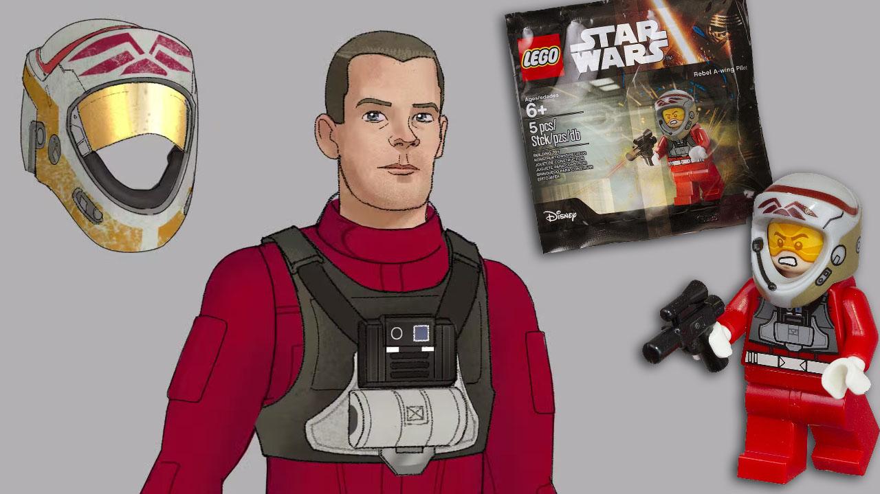 #shortcut: LEGO Star Wars Rebel A-Wing Pilot Polybag