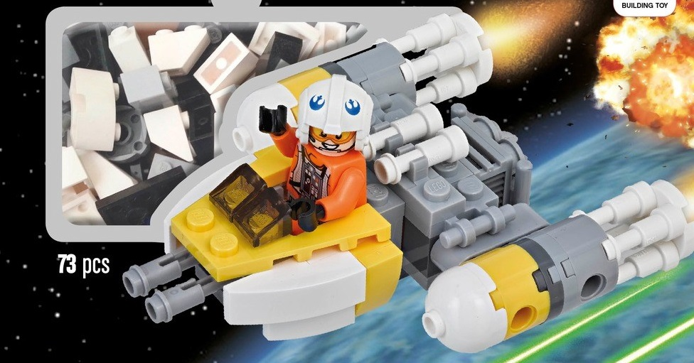 Exklusiver LEGO Star Wars Y-Wing Microfighter gesichtet