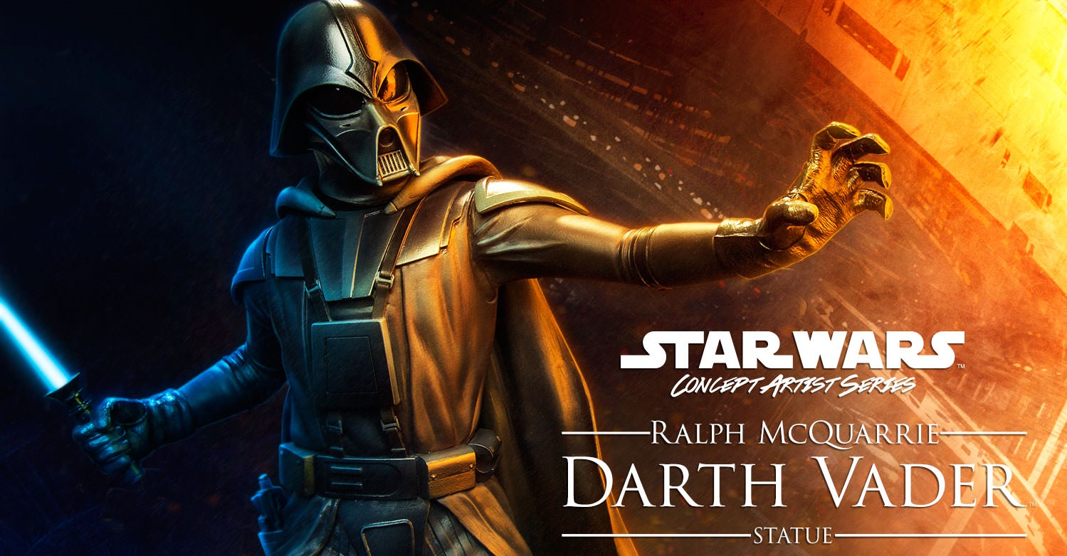 #shortcut: Sideshow Darth Vader McQuarrie Artist Series