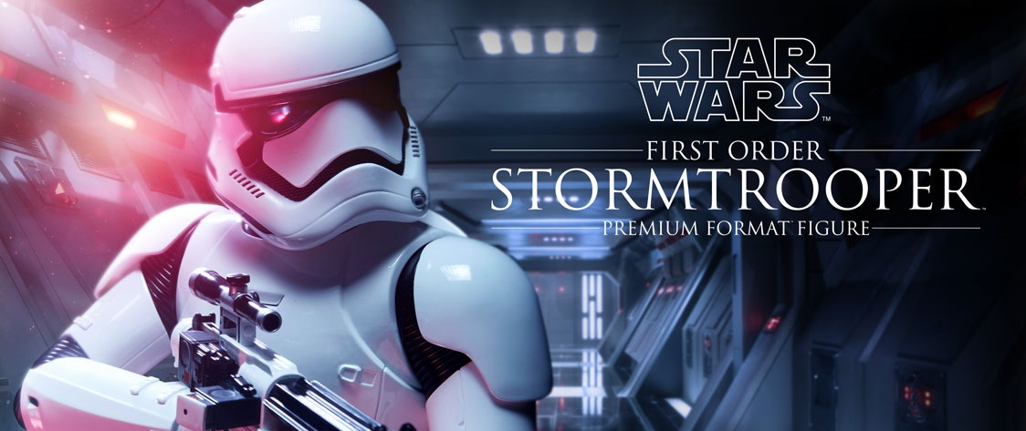 #shortcut: Sideshow First Order Stormtrooper Premium Format Statue