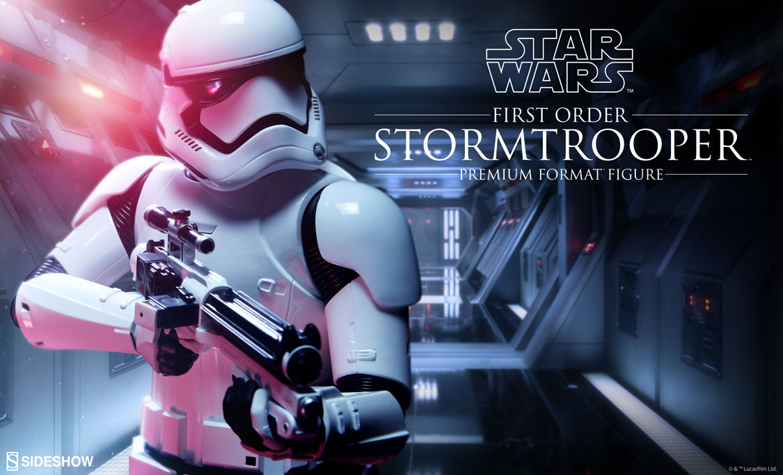 Sideshow First Order Stormtrooper Premium Format