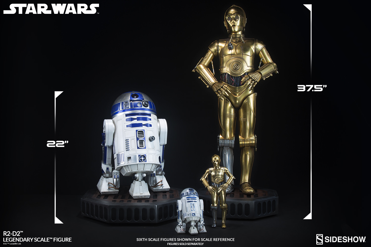 Sideshow R2-D2 Legendary Scale Figure