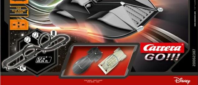 Star Wars Carrera GO! Rennbahn kommt