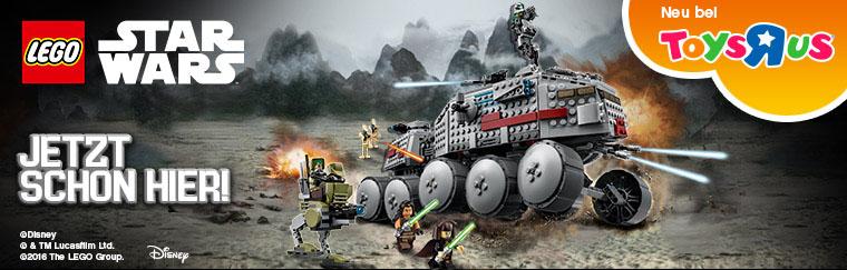 """#shortcut: LEGO Star Wars 2016 Sets auch schon bei Toys""""R""""Us – und noch mehr Rabatt!"""