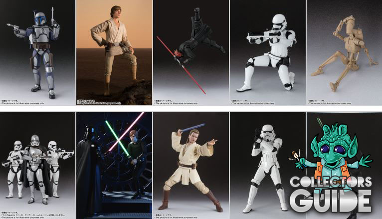 #shortcut: Neu im Guide – Tamashii Nations Star Wars S.H.Figuarts