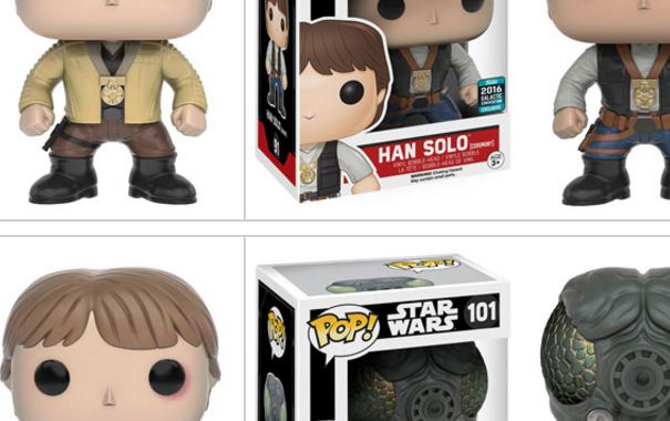Vier Funko Star Wars Celebration Exclusives vorgestellt!