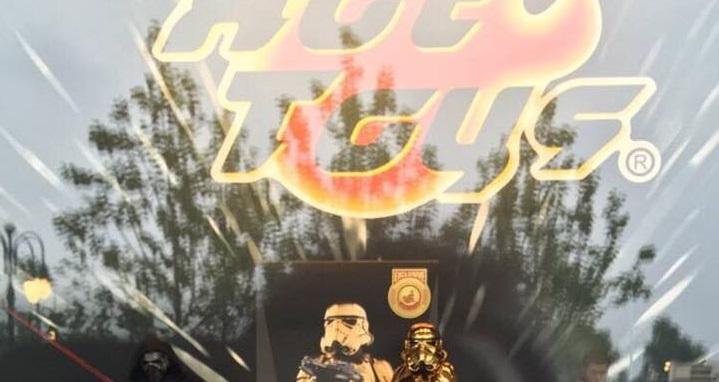 Hot Toys Gold Chrome Stormtrooper T