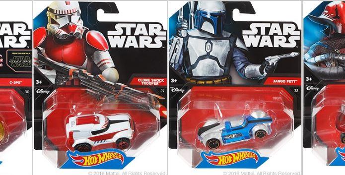 Hot Wheels Character Cars T