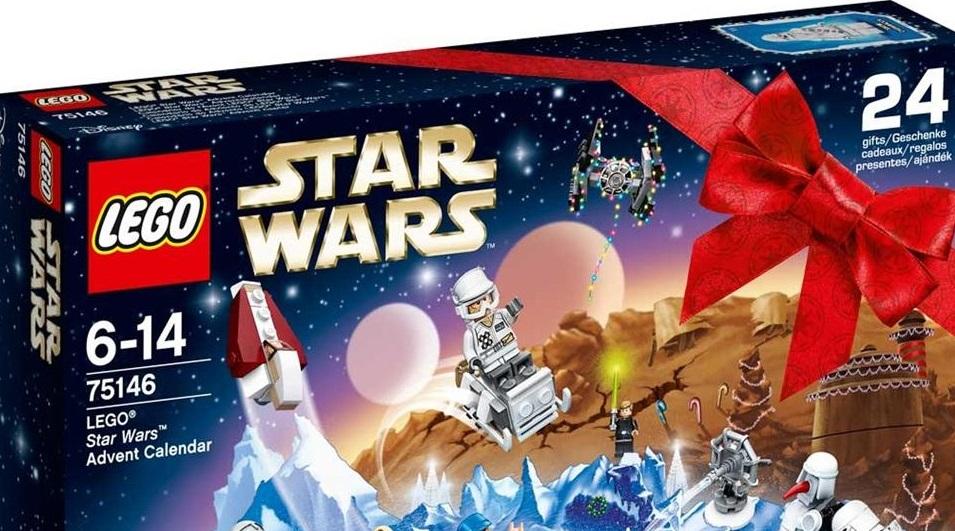 Erstes offizielles Bild zum LEGO Star Wars 75146 Adventskalender 2016!