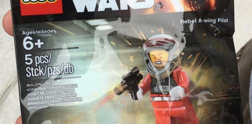 #shortcut: LEGO Star Wars Rebel A-Wing Pilot Polybag verfügbar!