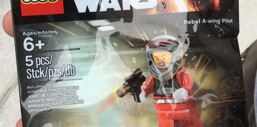 #shortcut: LEGO Star Wars Rebel A-Wing Pilot Polybag verfügbar!