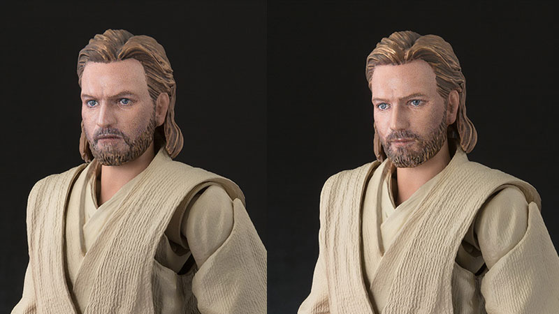 shortcut bilder der neuen s h figuarts obi wan kenobi figur. Black Bedroom Furniture Sets. Home Design Ideas