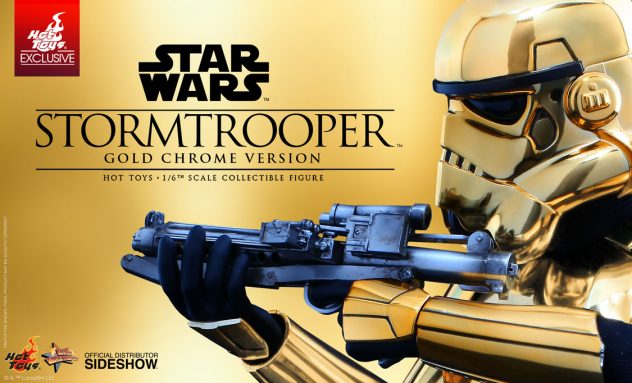 Sideshow Gold Stormtrooper