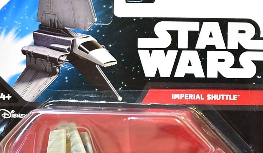 #shortcut: Zwei neue Star Wars Die-Cast Starships von Hot Wheels
