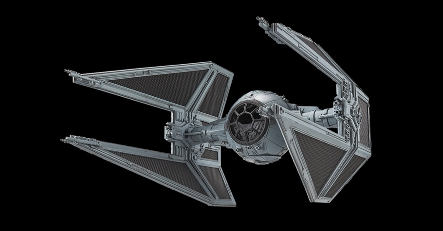 Bandai TIE Interceptor Model Kit – alle Bilder und Details