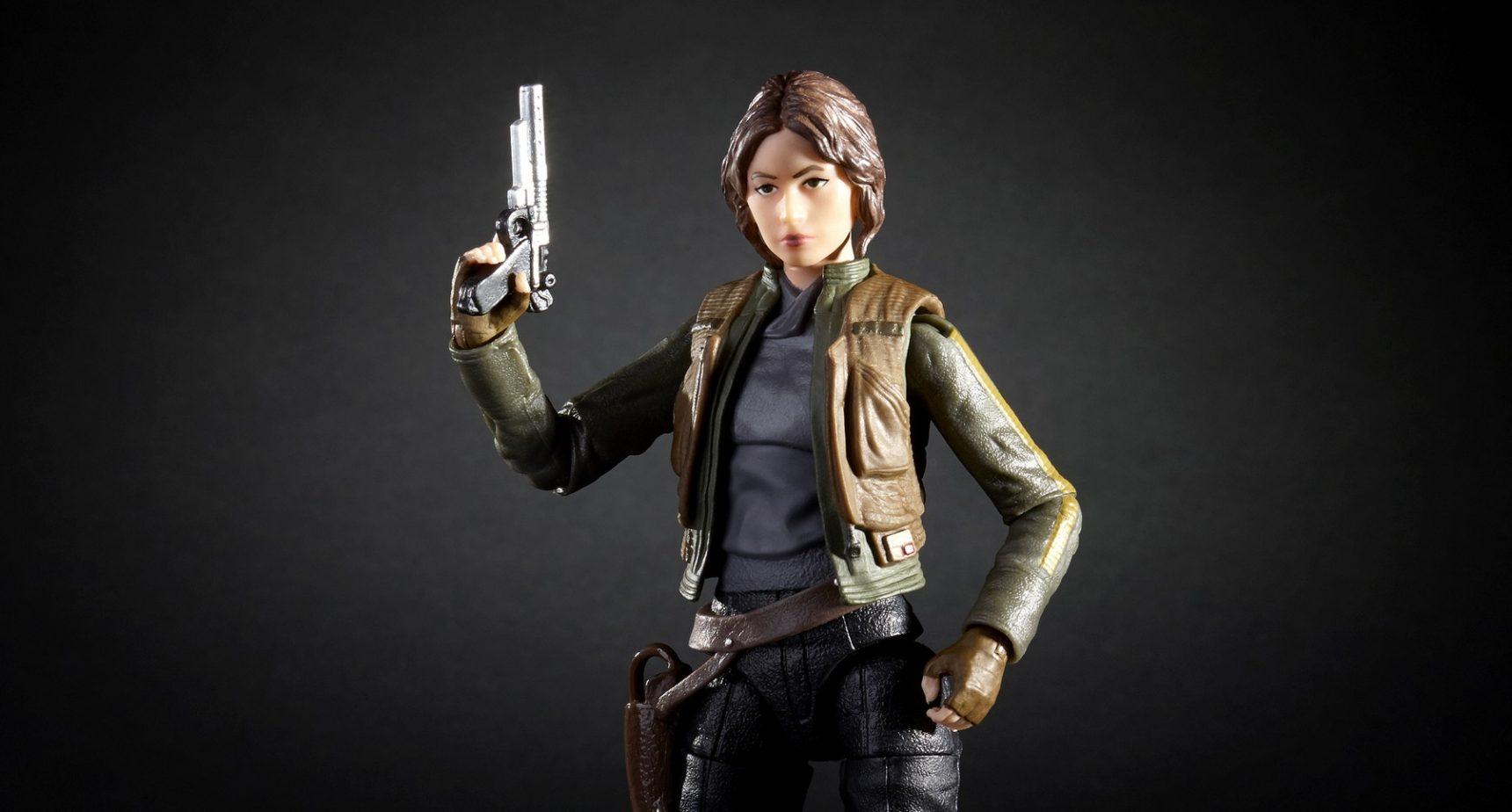 Hasbro Black Series Jyn Erso 6 inch Figur vorgestellt