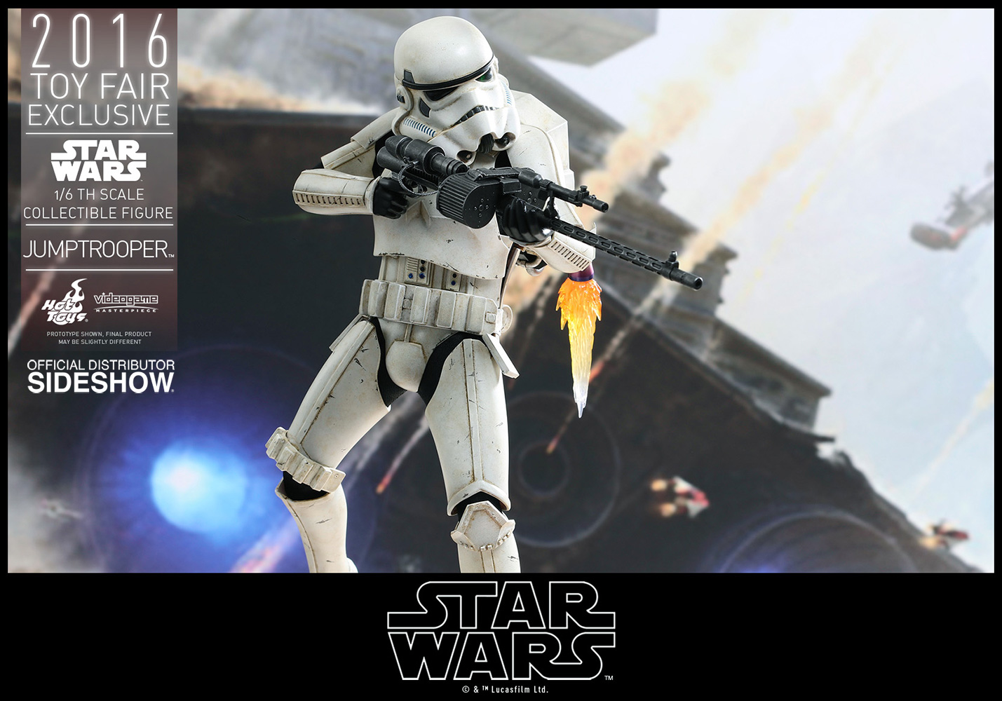 Hot Toys Jumptrooper als Exclusive präsentiert
