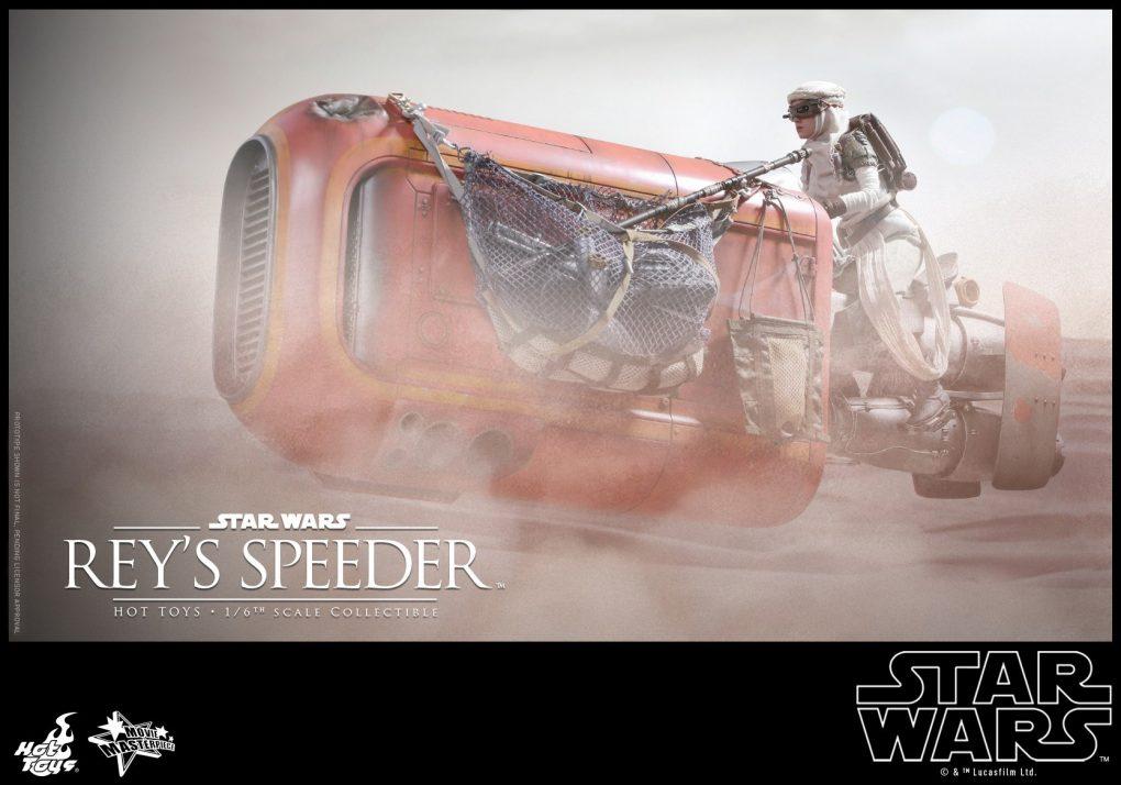 Hot Toys Reys Speeder